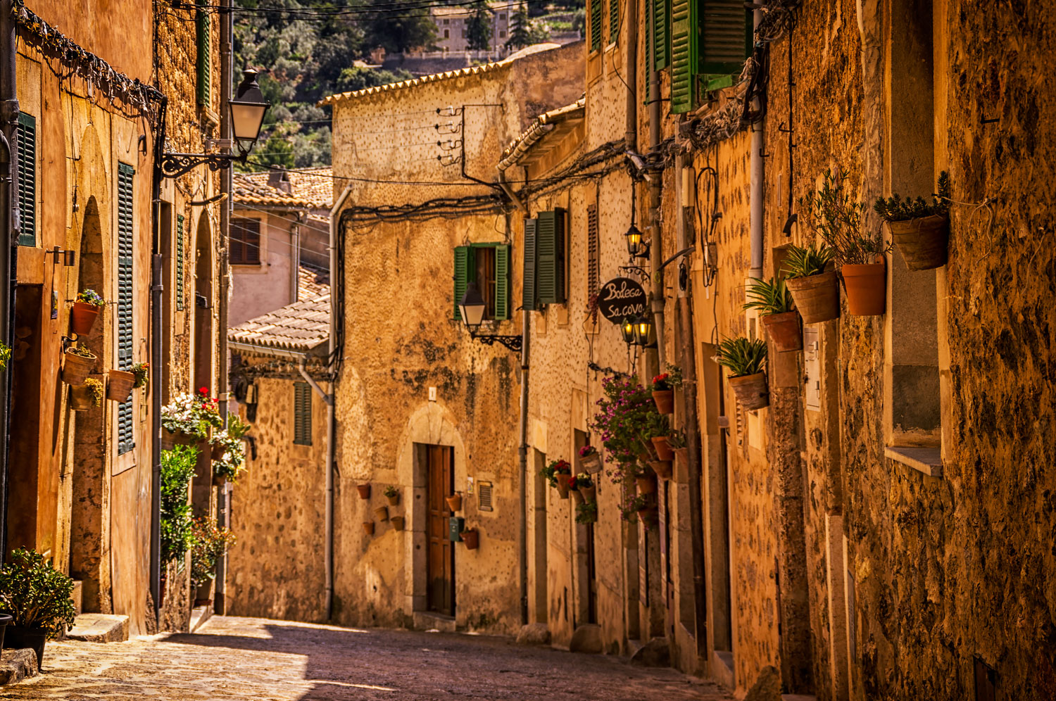 Street in Valldemossa