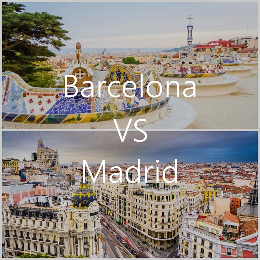 barcelona vs madrid travel away
