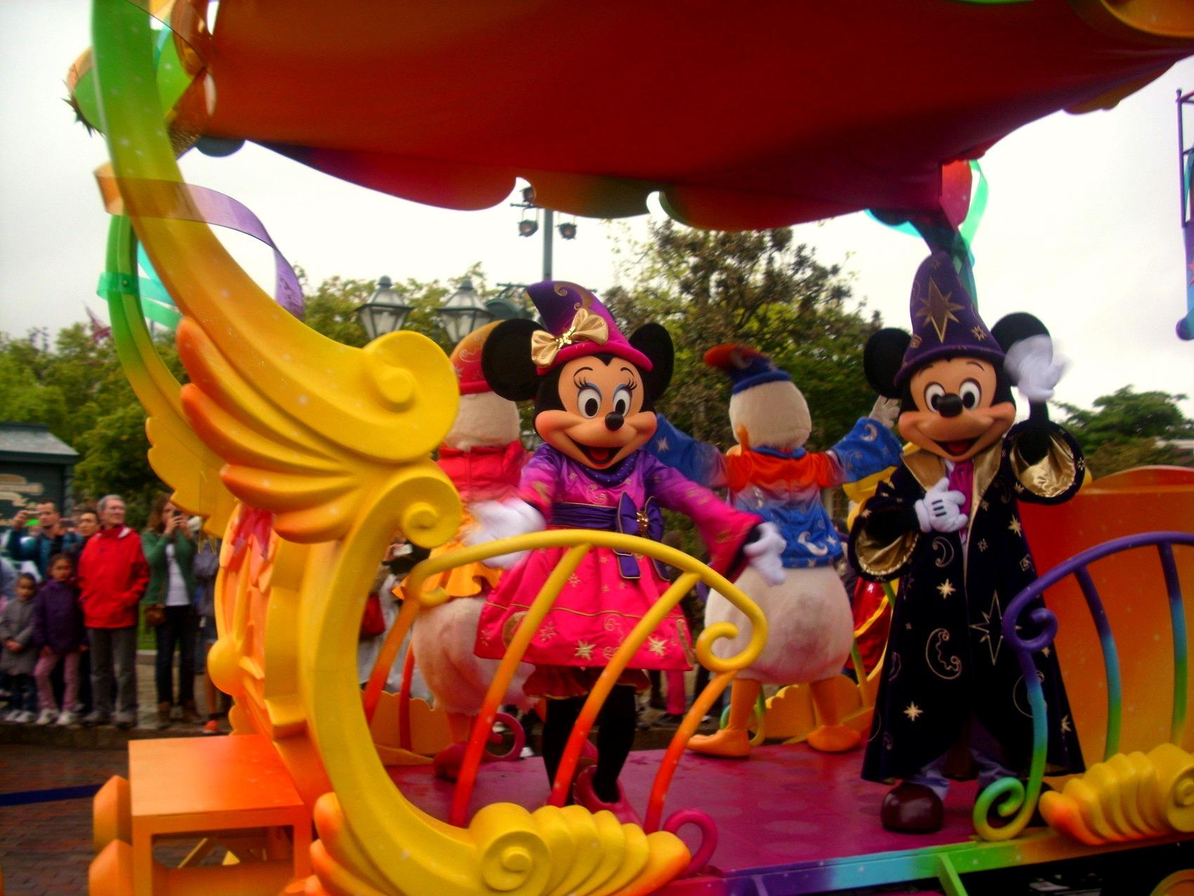 Colorful Disneyland Paris