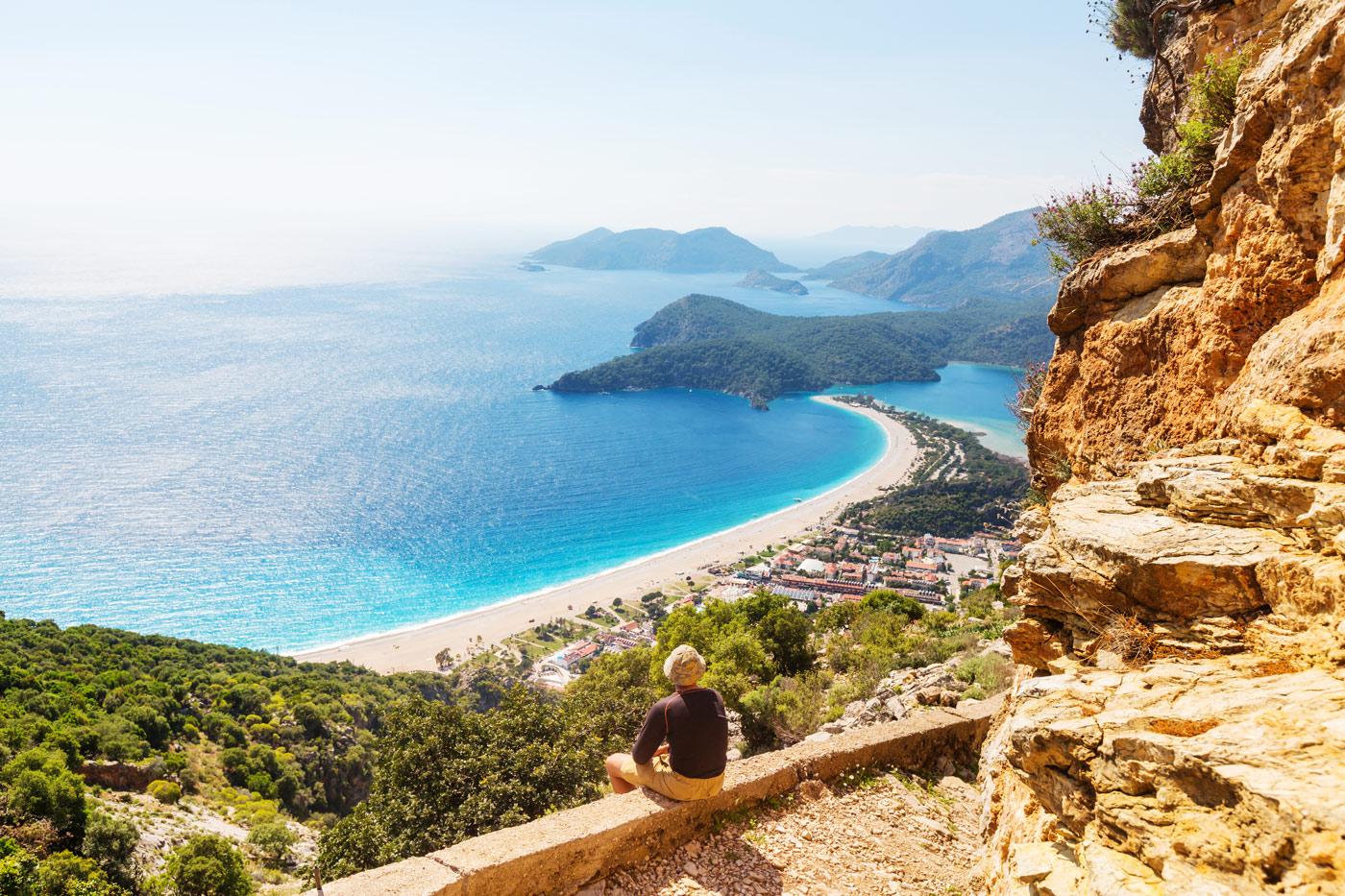 Turkey sea coast