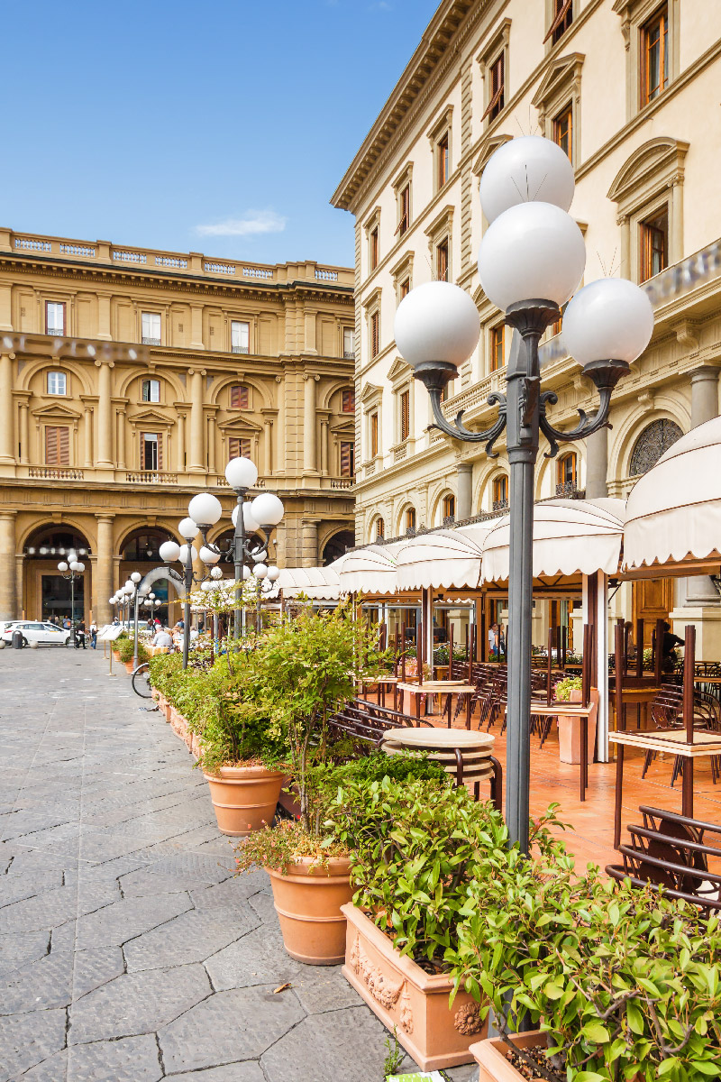 Trattoria in Florence