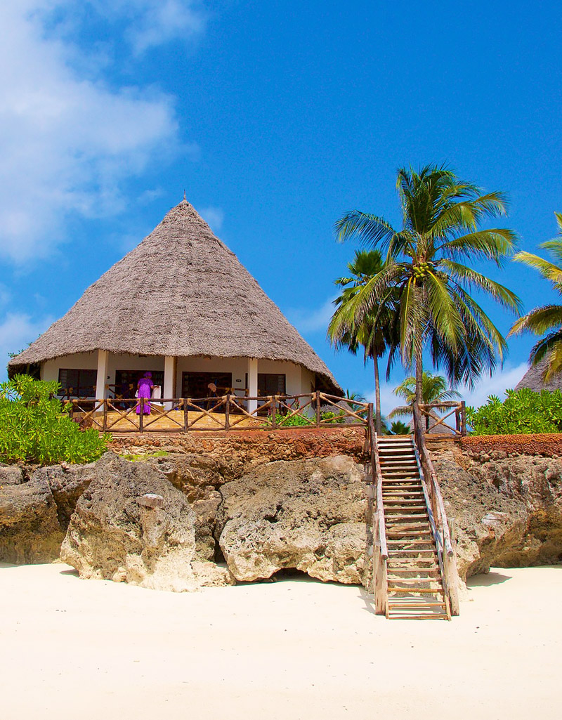 Beach house in Zanzibar
