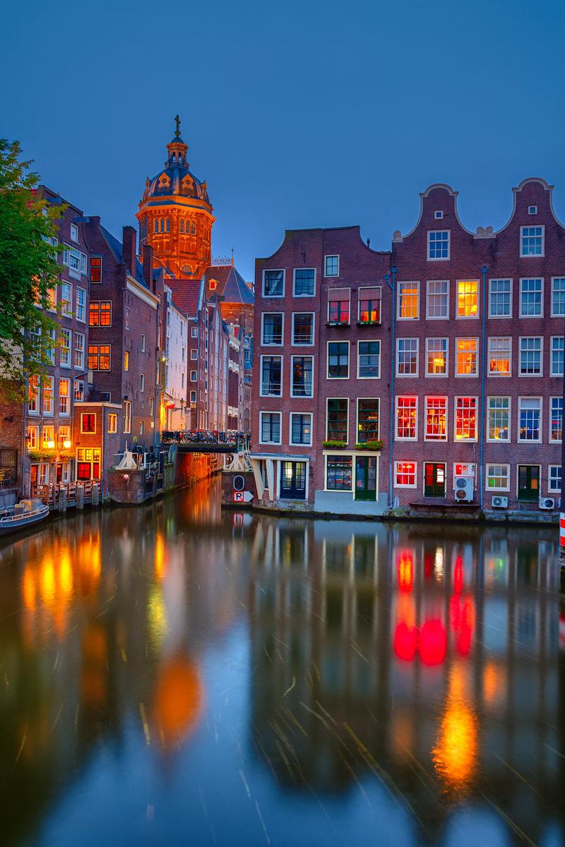 The beautiful Amsterdam