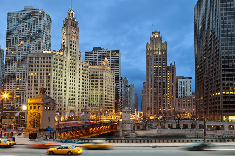 Best city to visit in the US for architecture