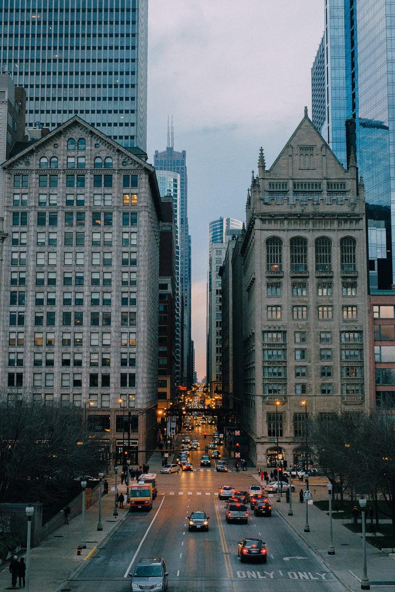 Avenue in Chicago