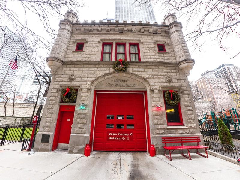 Chicago Fire Engine 98