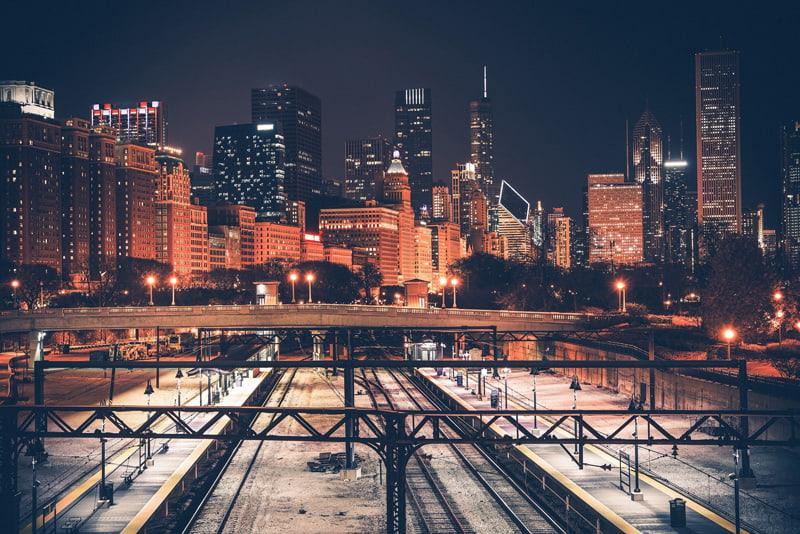 Railroads in Chicago