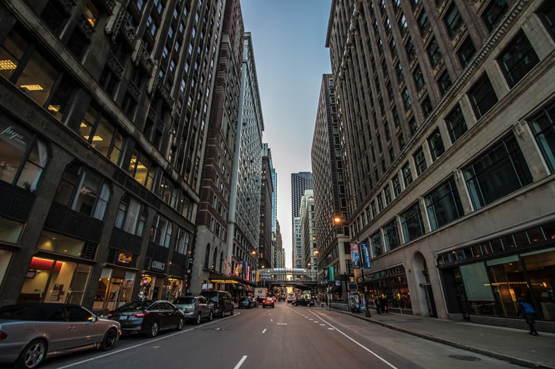 Street in Chicago