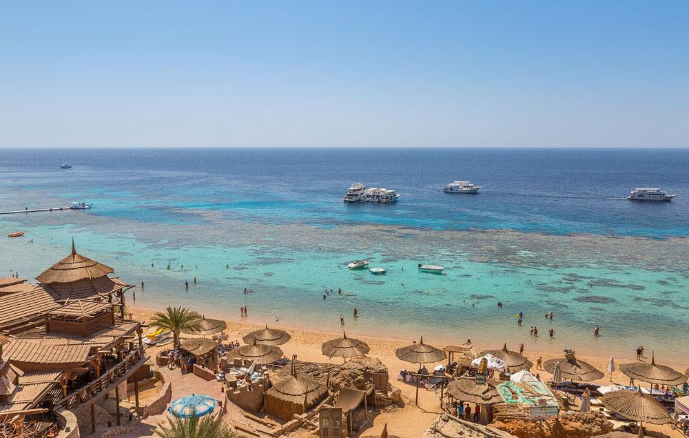 Beach resort in Egypt