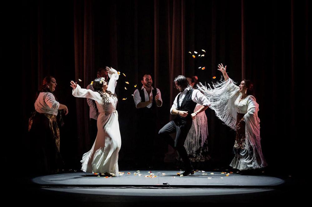 Flamenco festival in Seville
