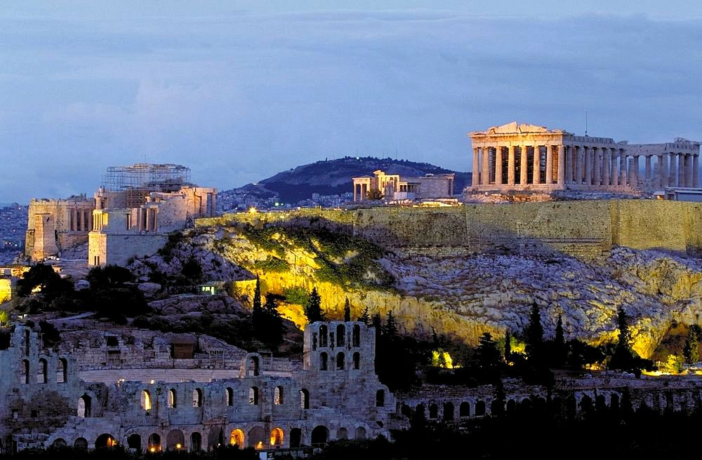Greek Ruins, Athens
