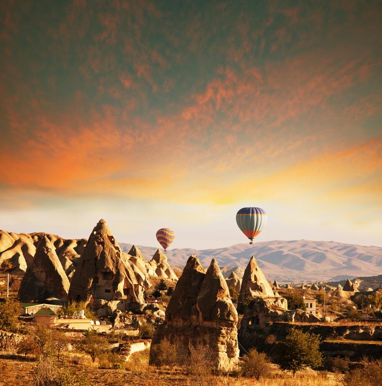 Cappadocia ballons