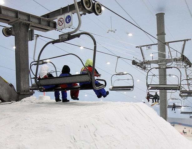 indoor ski Dubai