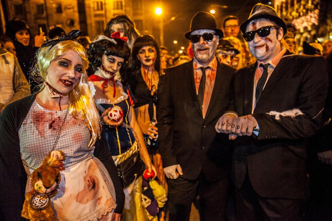 Amsterdam Halloween parade