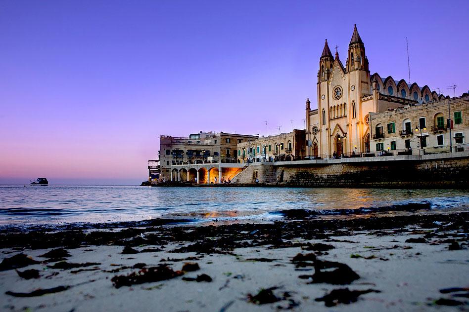 Saint Julian's Bay, Malta