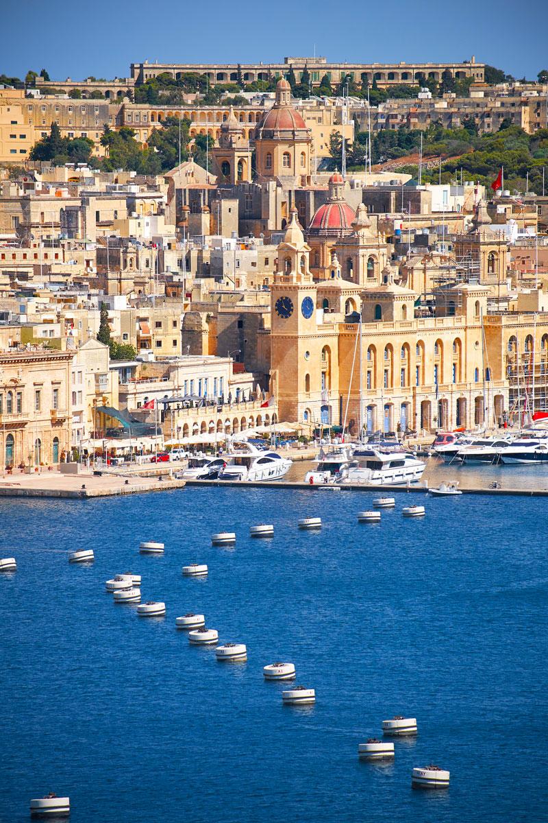 Birgu peninsula, Malta