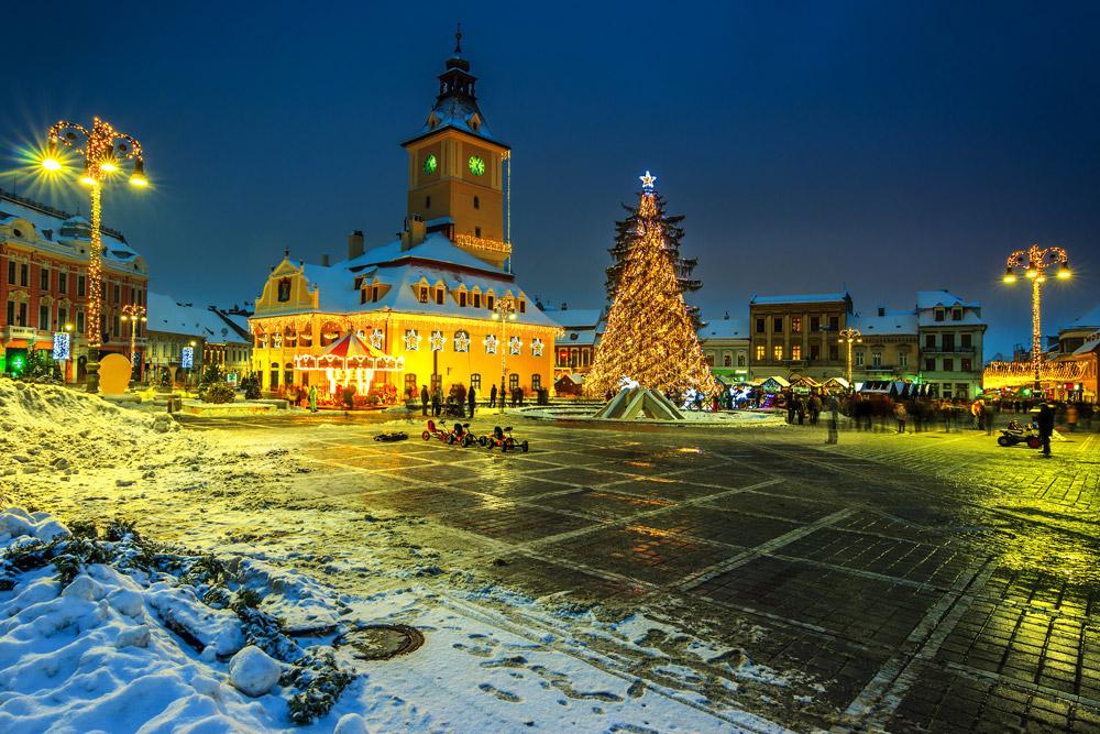 Christmas market in Brasov