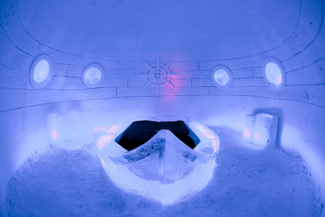 Ice hotel in Lapland