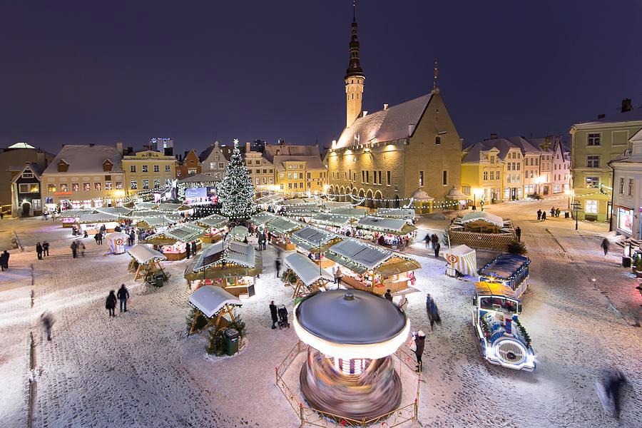 Best Christmas Market in Estonia