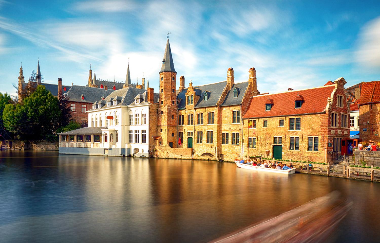 Historic center in Bruges