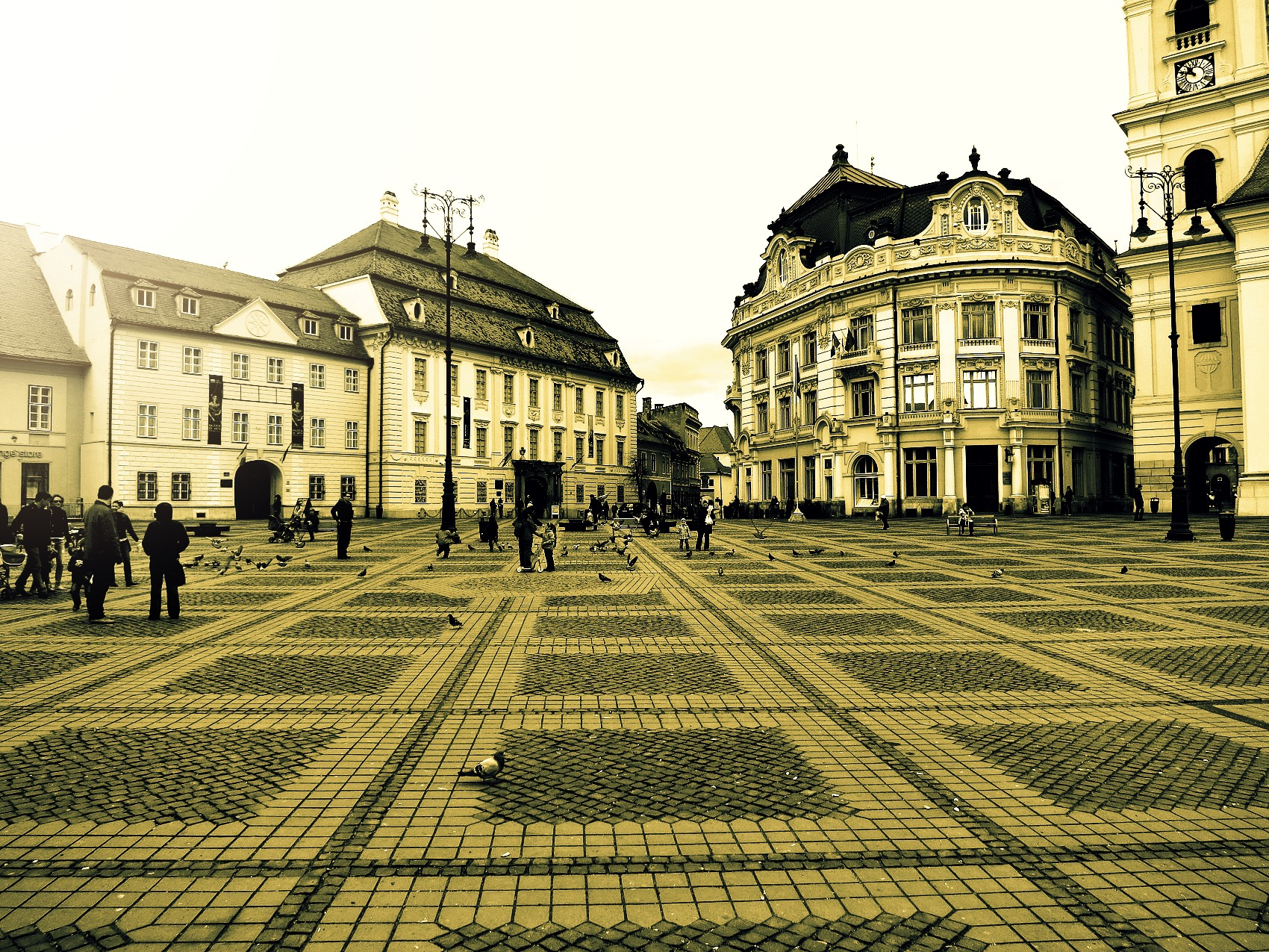 Sibiu architecture