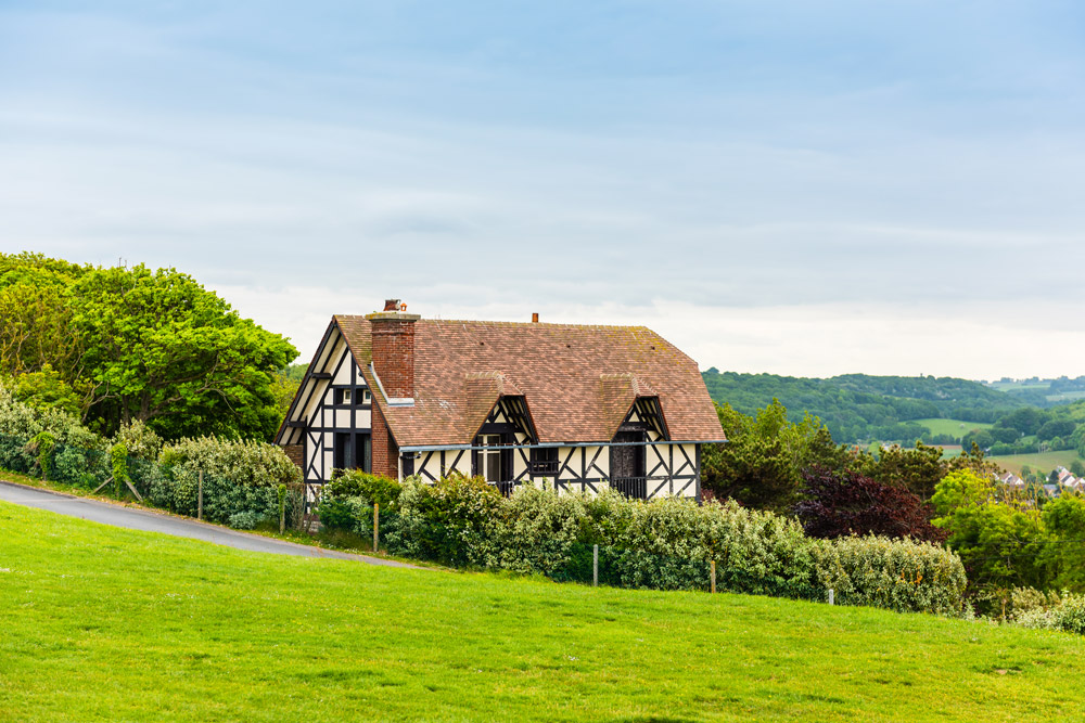 Traditional house in Normandy
