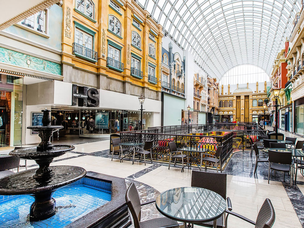 Largest shopping mall in North America