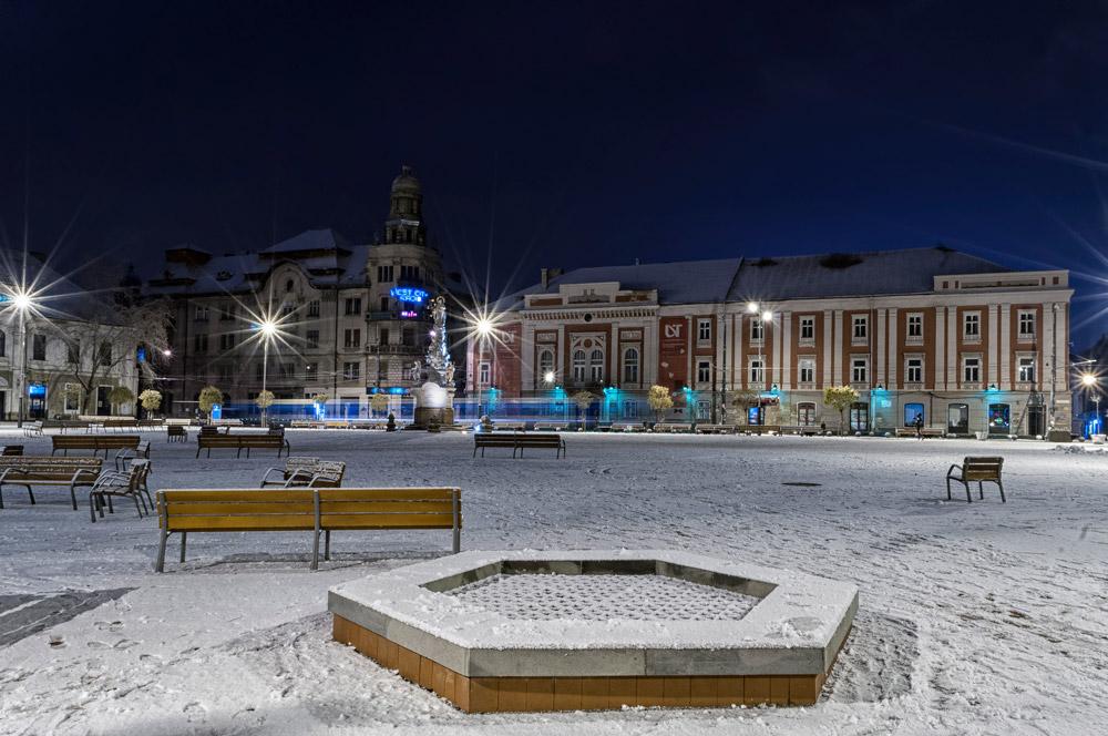 Timisoara at night