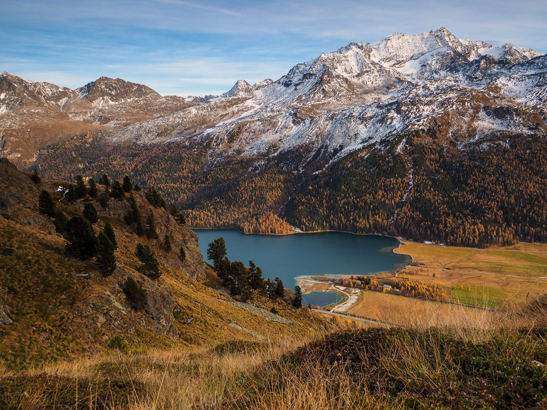 Engadine in the fall