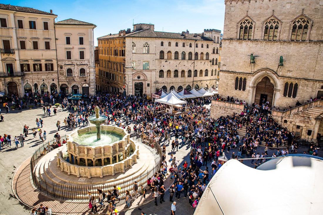Perugia in October