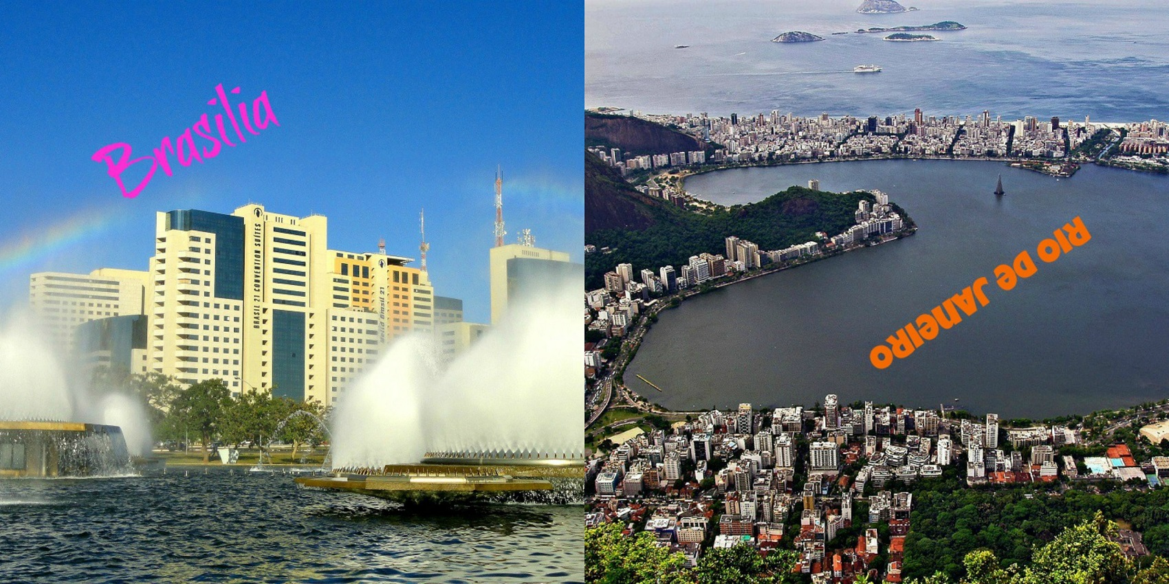 Rio vs Brasilia
