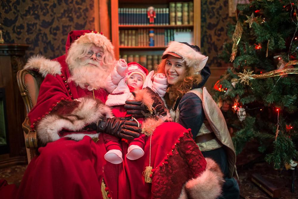 Inside Santa's House