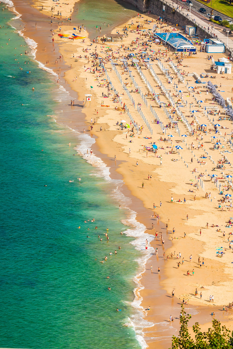 Best city beach in Europe