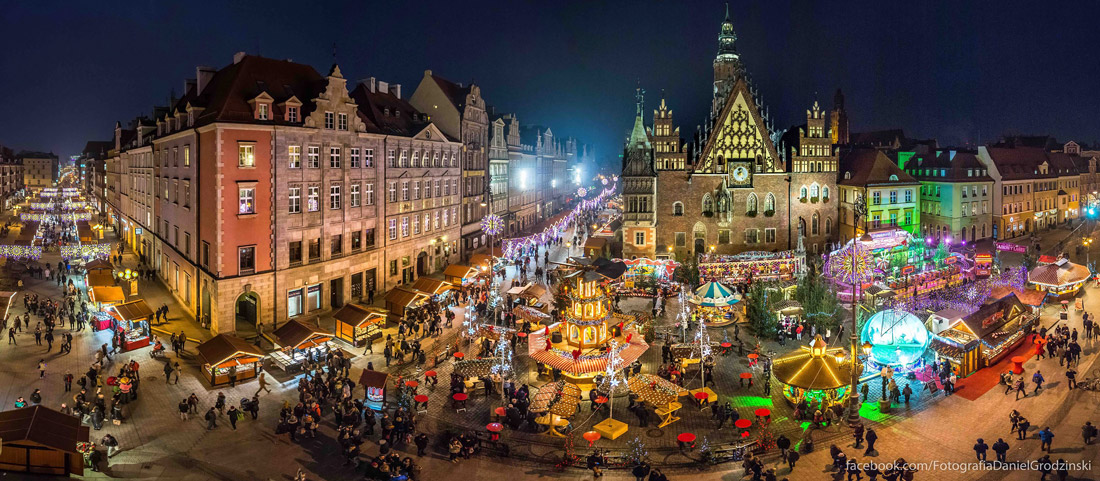 Wroclaw during the winter holidays