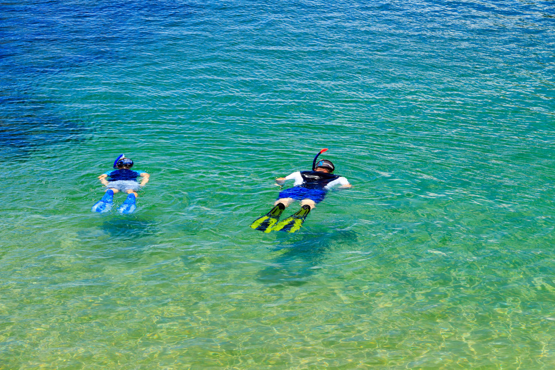 Snorkeling in Madeira
