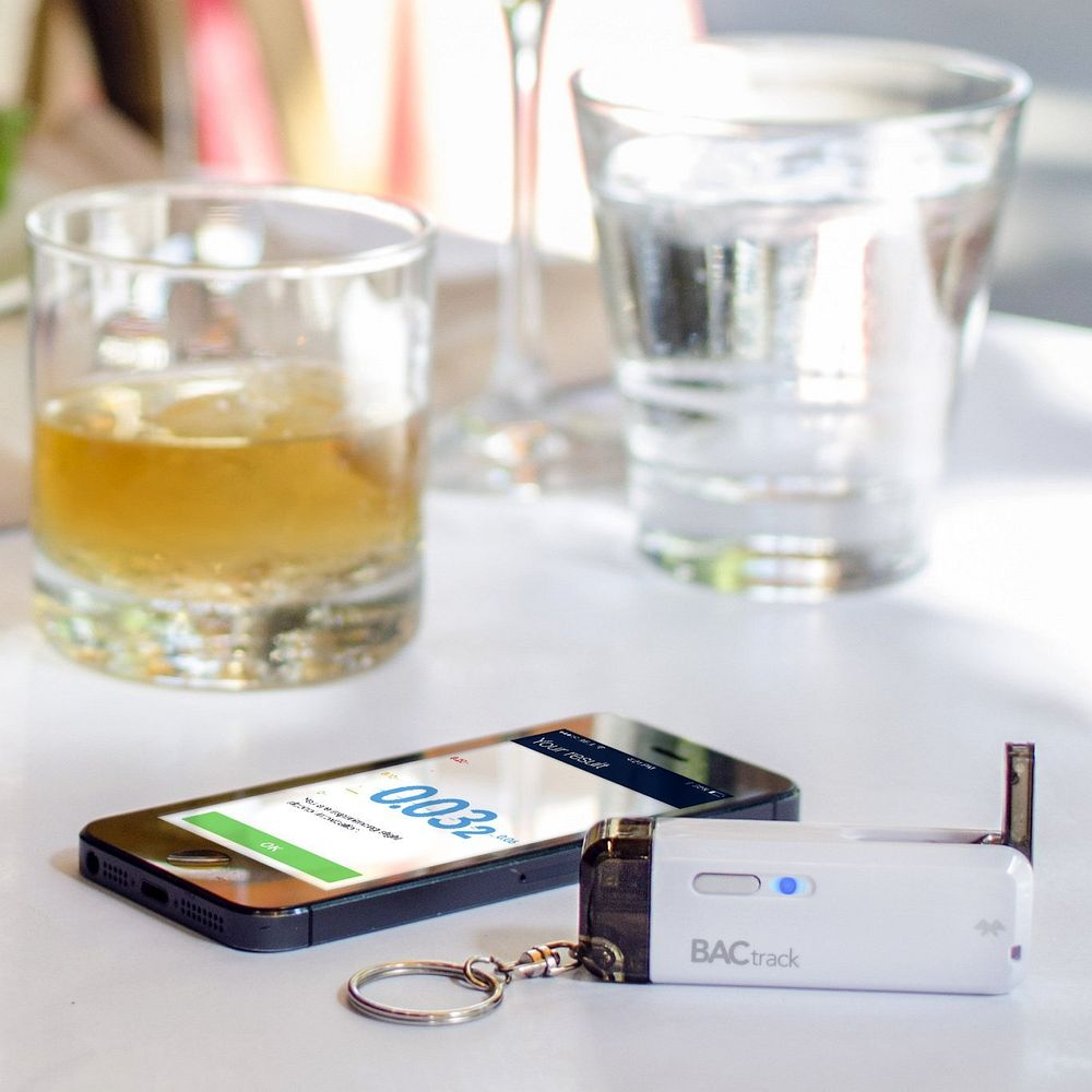 Bafômetro para smartphone