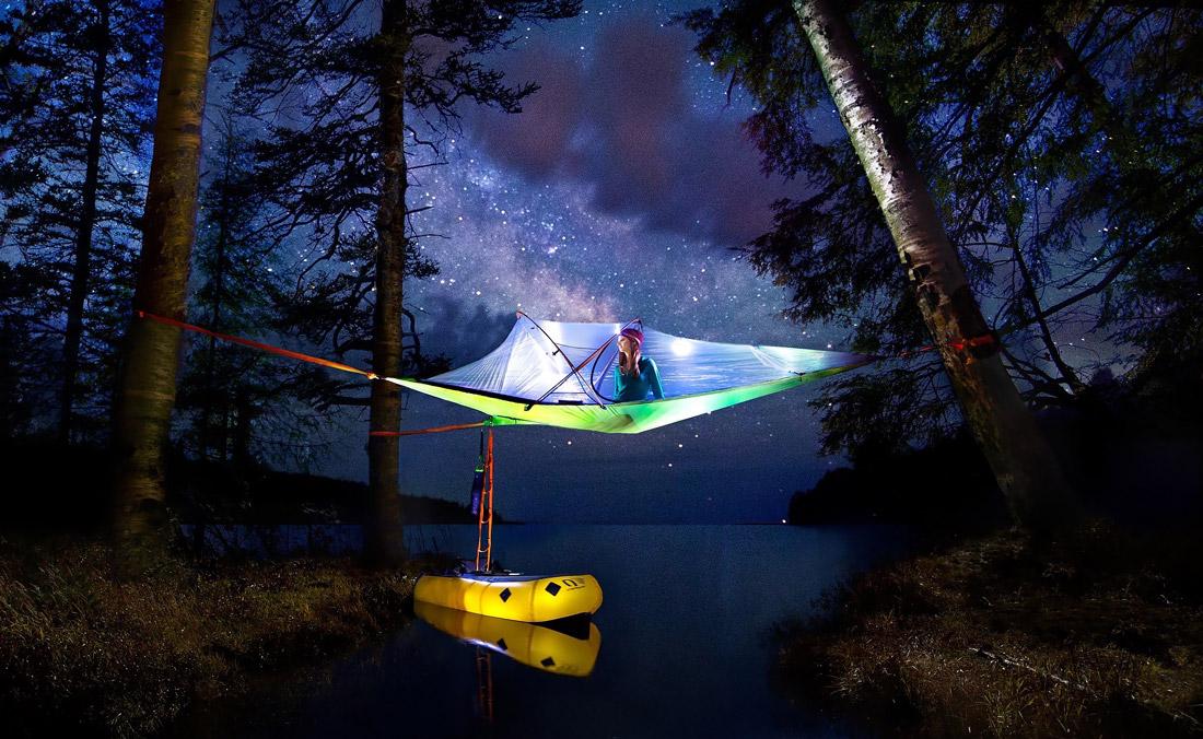 Melhor tenda da árvore