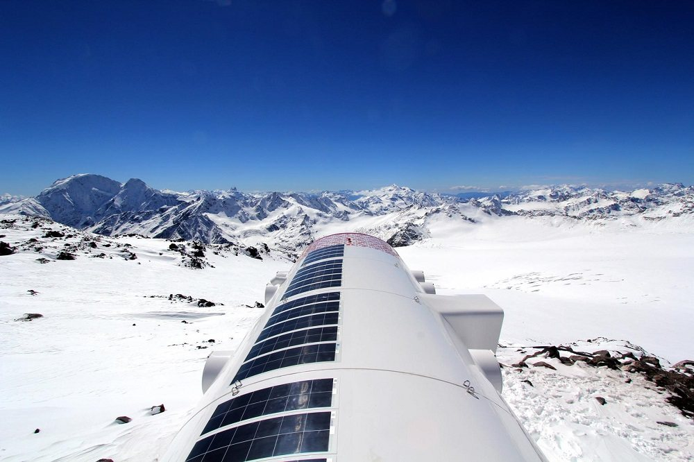 High-altitude hotel designed by LEAP Factory