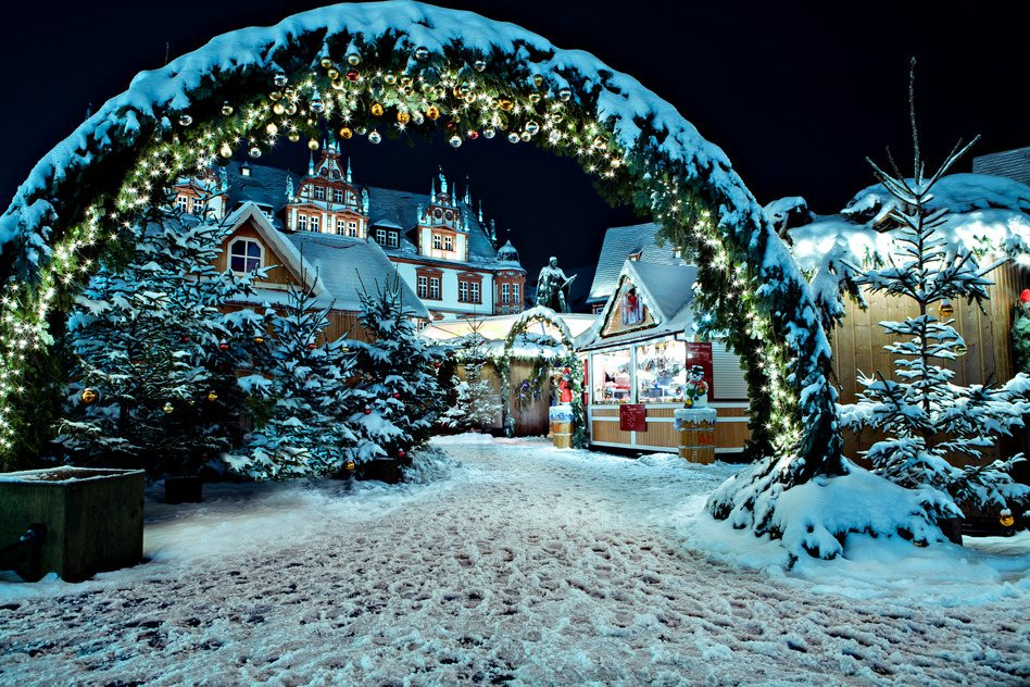 White Christmas In Germany.8 Lesser Known Destinations To Spend Christmas In Europe