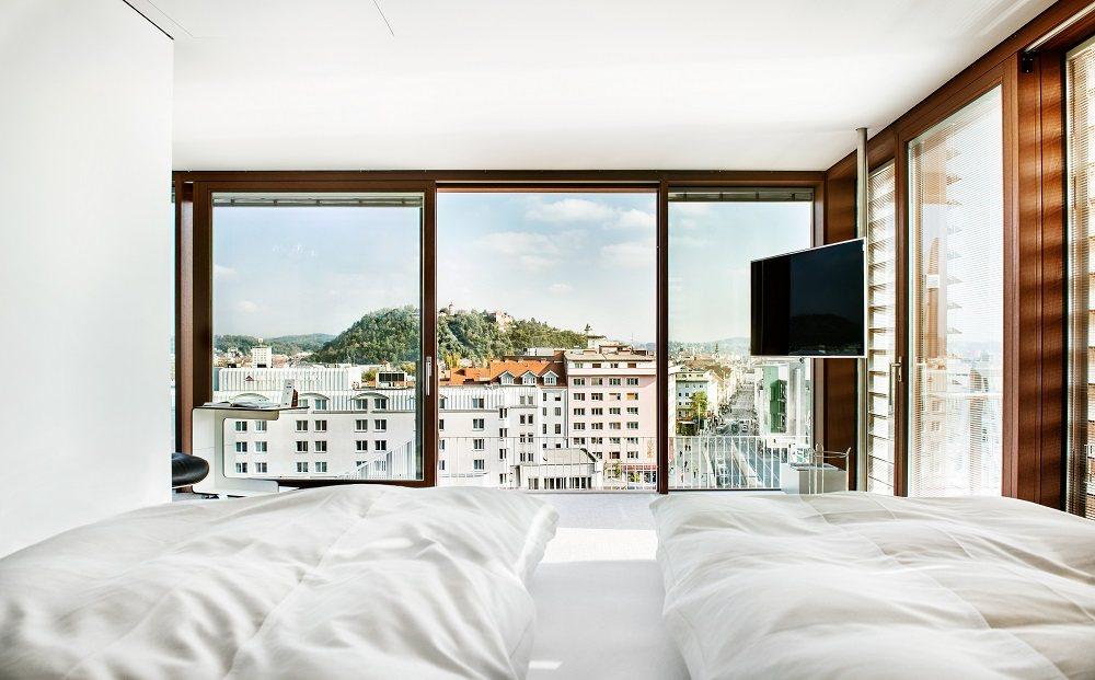 LoftCube Bedroom Views