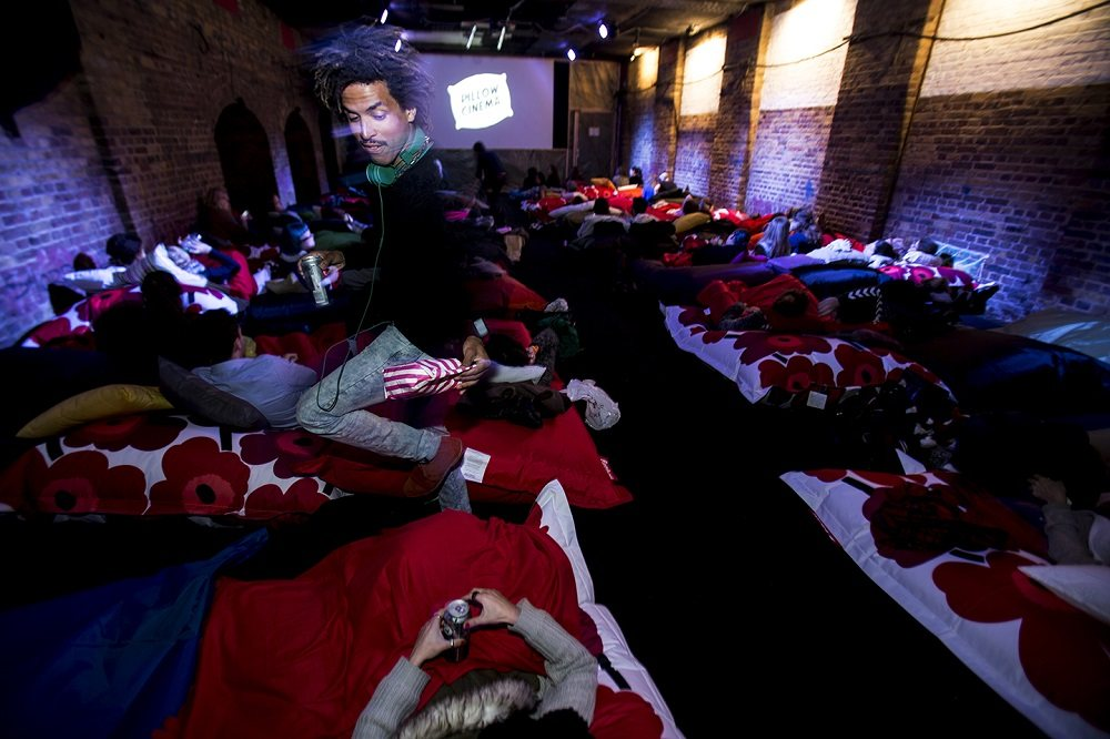 East London Pillow Cinema