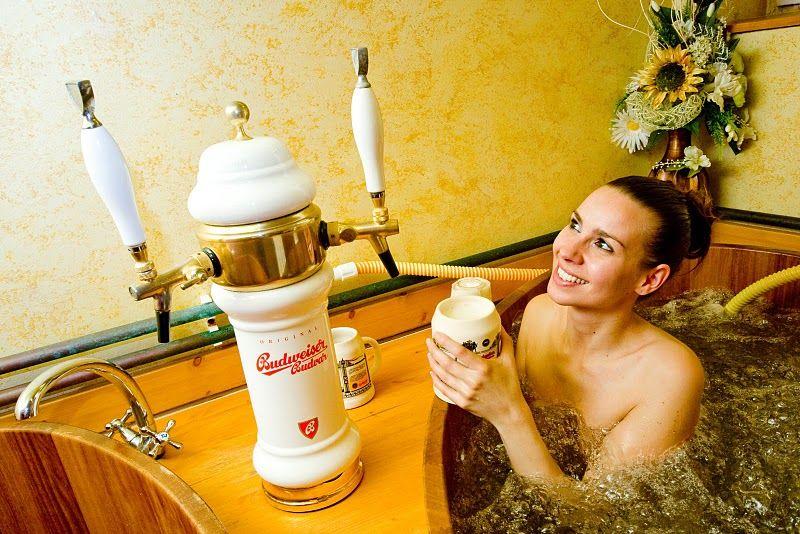 Bahenec Beer Bath