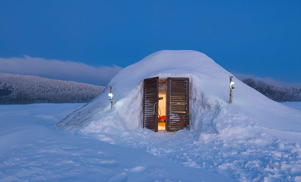 Igloo Village in Germany