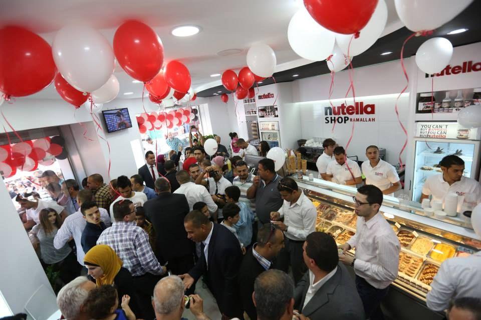 Nutella Shop, Ramallah
