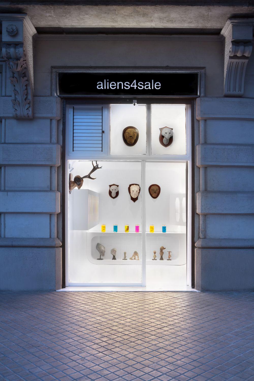 Aliens Store in Barcelona