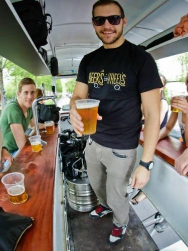 Beer Bike Tour, Budapest