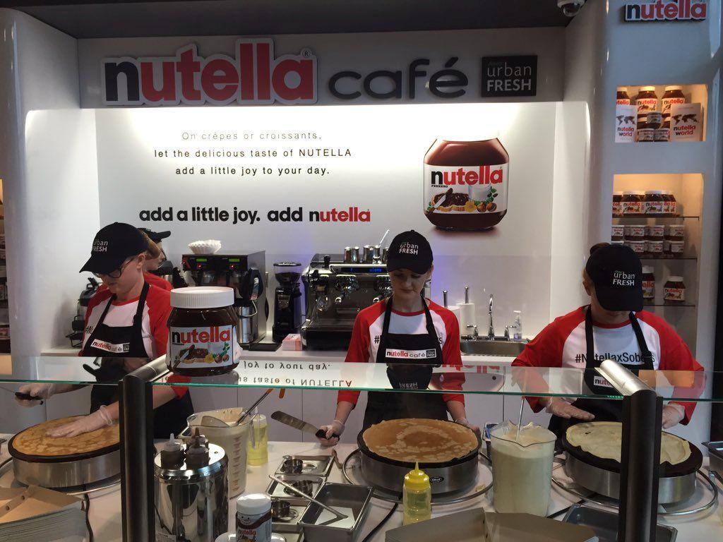 Nutella Cafe, Toronto