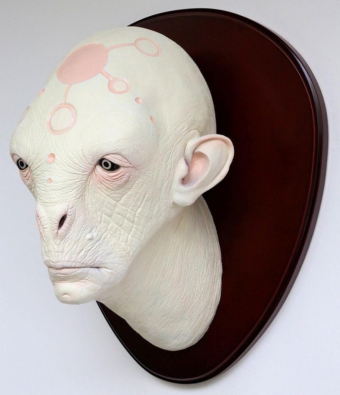 Crop Alien Head