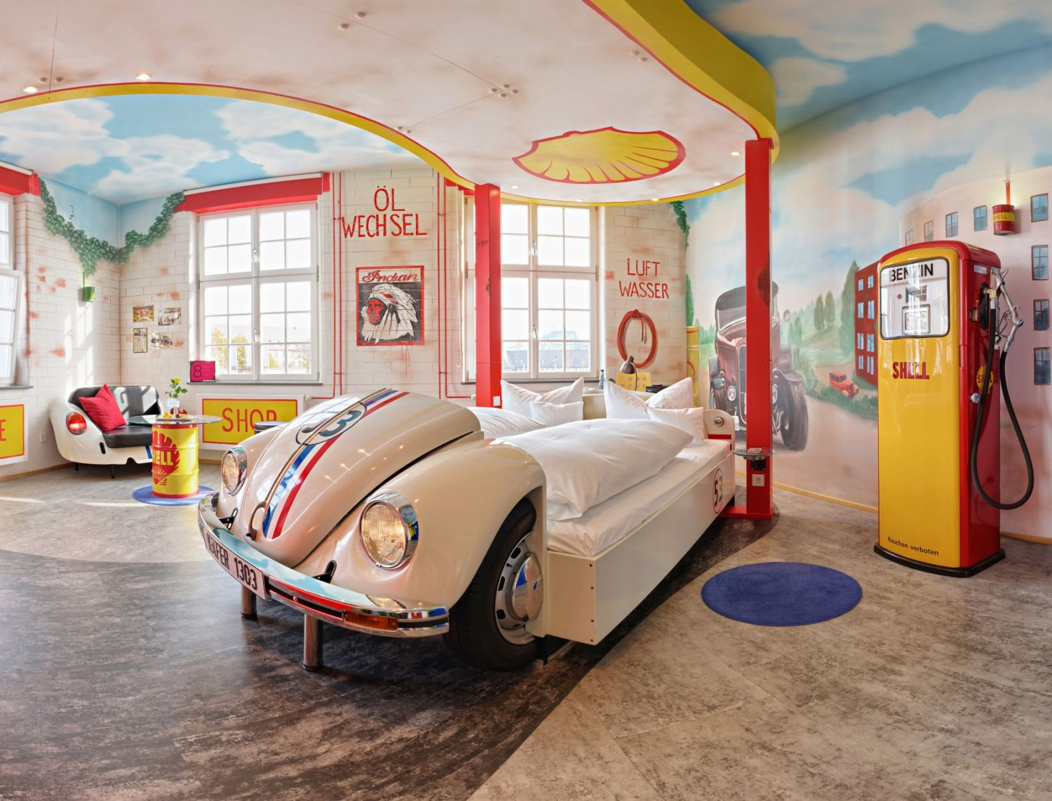 Car-themed hotel in Germany