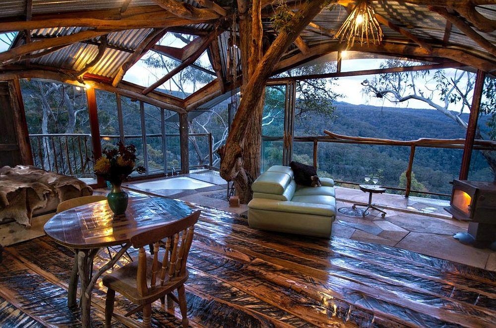 Inside a Treehouse